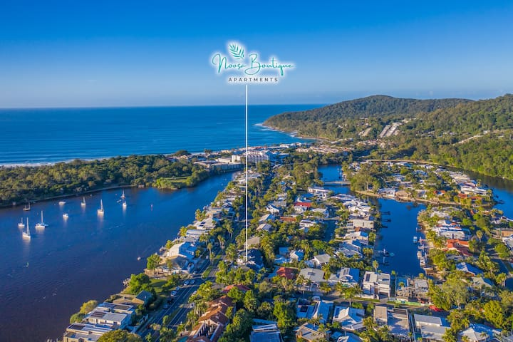 Noosa Boutique Apartments, Apt 6 - 2 bedroom apt