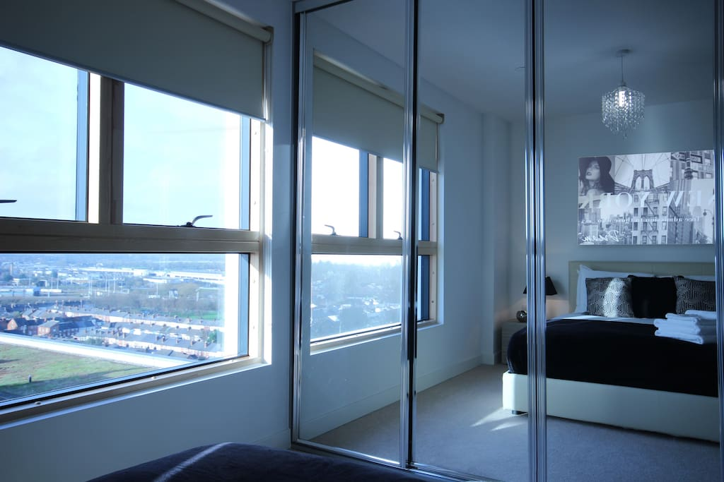 We have a number of apartments in City Towers, and the photos here are an example of the standard, and furnishings.