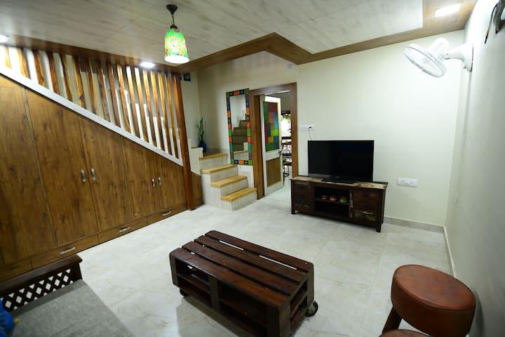 Lower part of duplex room