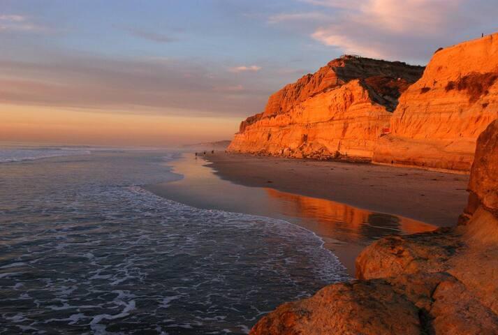 Del Mar Beach ~ Ocean View Townhome