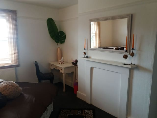 A work desk, free WIFI throughout the property