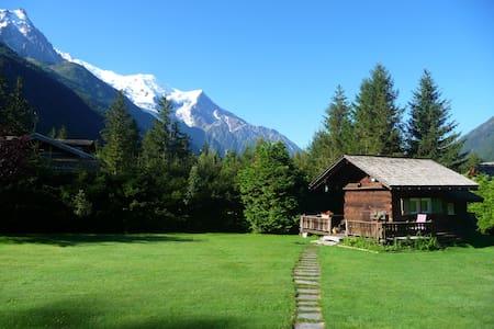 """Petit chalet """"Mazot"""" 2km Chamonix2p - Chamonix - Stuga"""