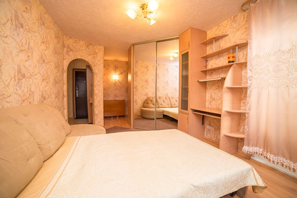 1-BEDROOM: WI-FI apt Sheynkmana,45