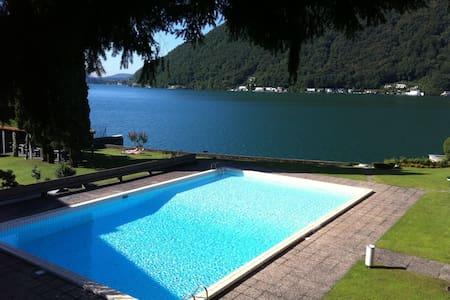 Lake Lugano  waterfront apartment - Maroggia