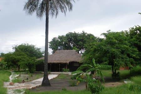 Casa ecológica en plena naturaleza - Gunjur - Hus