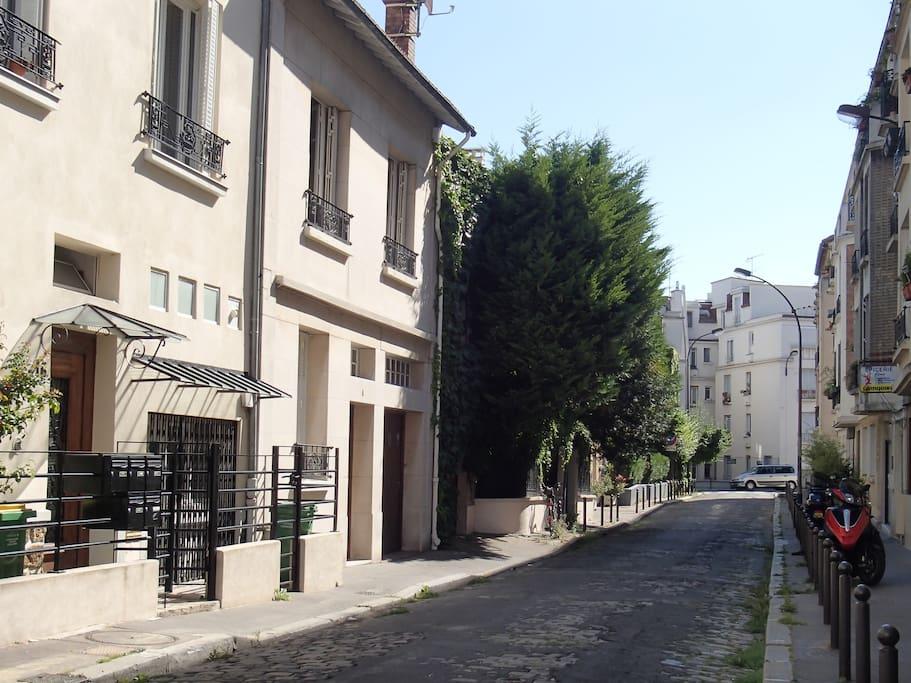 Rue très calme