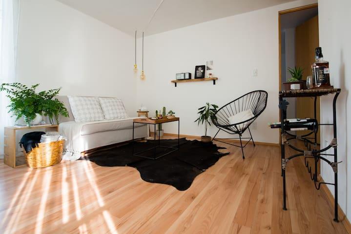 Acogedora habitación en Condesa - Ciudad de México - Apartament