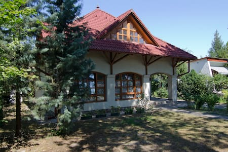 Villa 150m from Balaton, for 4-8ppl - Fonyód - Casa
