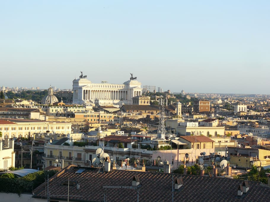 Spanish steps rome view appartamenti in affitto a roma for Airbnb roma