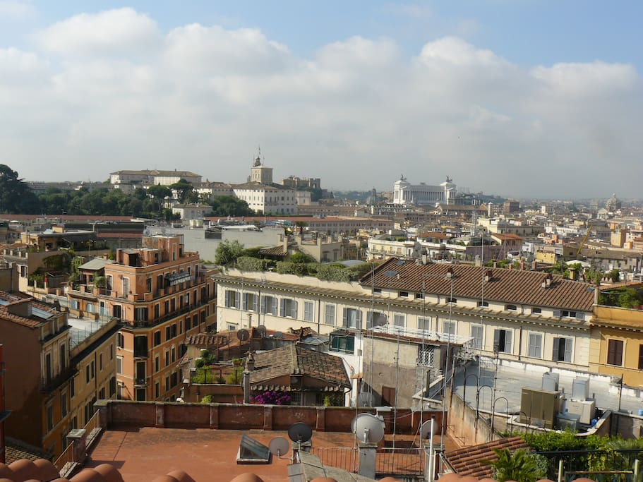 Spanish steps rome view apartments for rent in rome for Airbnb roma