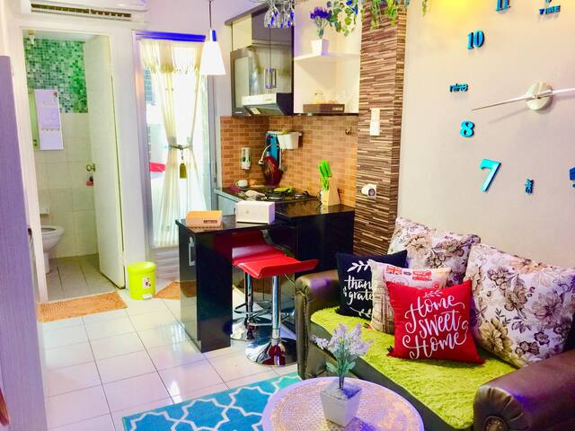 Well Organized Apartment in Kalibata City WIFI HTR