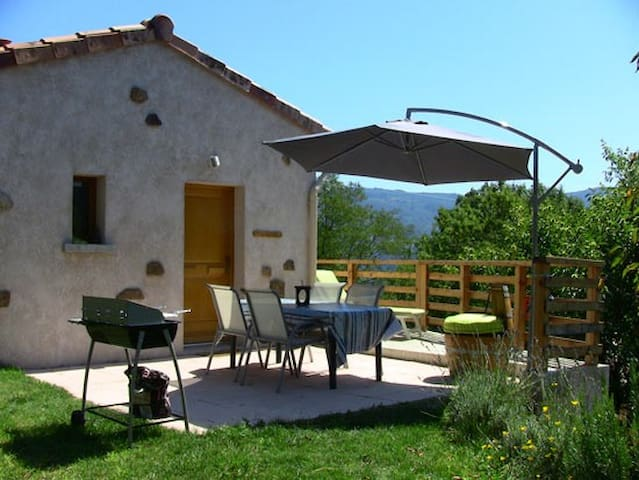 Holiday studio for rent in Ardèch. - Empurany - Lägenhet