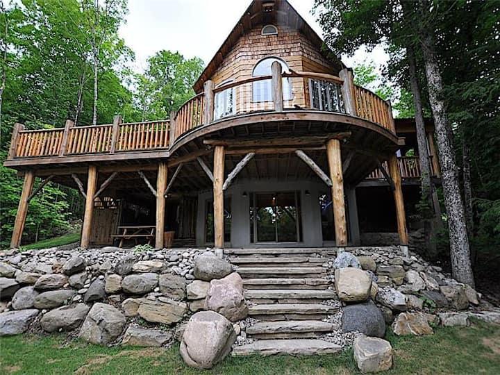 Twisted Log Cottage