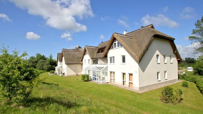 Strandhaus Mönchgut Wohnung 02 - Middelhagen - Byt