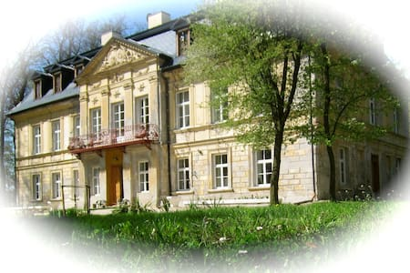 Palace at Nakło B&B: Blue Suite - Lelów - Vila