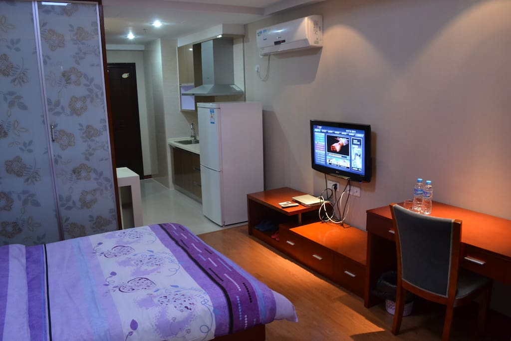 杭州滨桥湾酒店式公寓--钱塘江景房