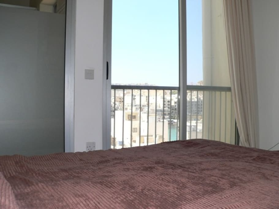 Double Bedroom 1 with  view