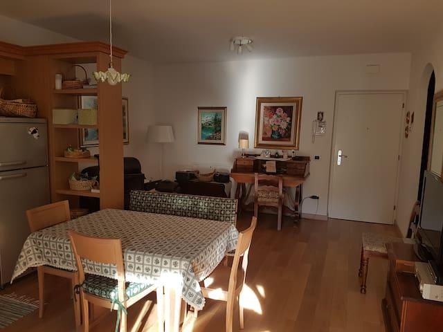 Appartamento bilocale in Trentino con giardino