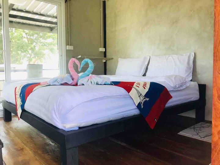 ห้องพักสำหรับ 2 ท่าน (ที่พักอุทัยธานี) SolarCell Private Stay