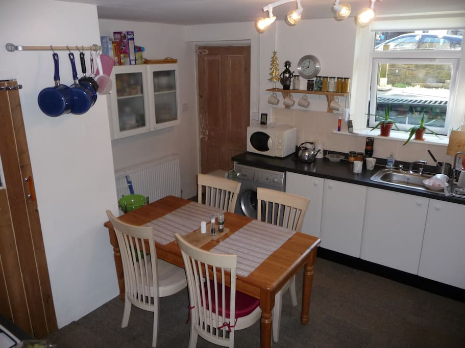 Newly decorated kitchen/dining room
