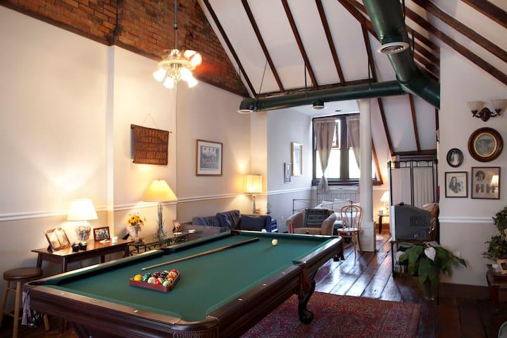 Historic Savannah,Ga. -Private loft - Savannah - Casa