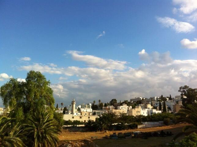 Chambre à Montfleury - Tunis - Bed & Breakfast