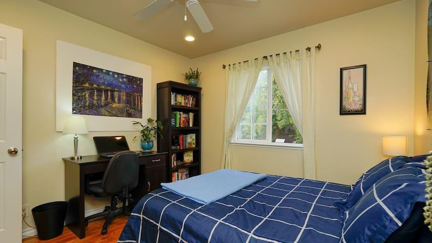 Quiet, comfortable room near F@ceb00k & Stanford