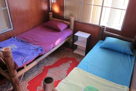 Private Twin Bedroom - Mueang Chiang Rai
