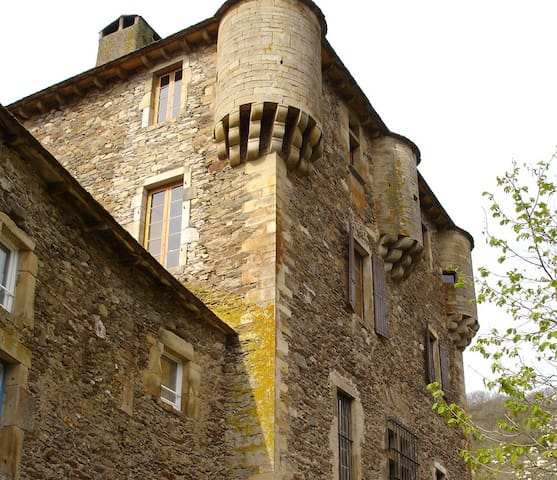 Welcome to Balaguier Castle cottage - Balaguier-sur-Rance - Rumah