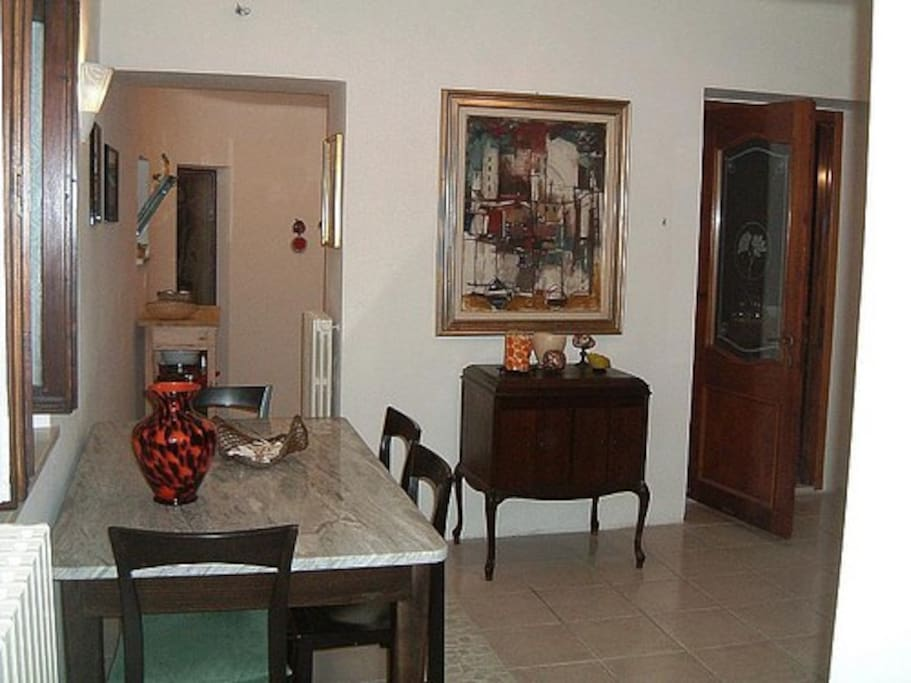 """Soggiorno, appartamento """"Il Pampino"""" - primo piano - Casale del Levriero"""
