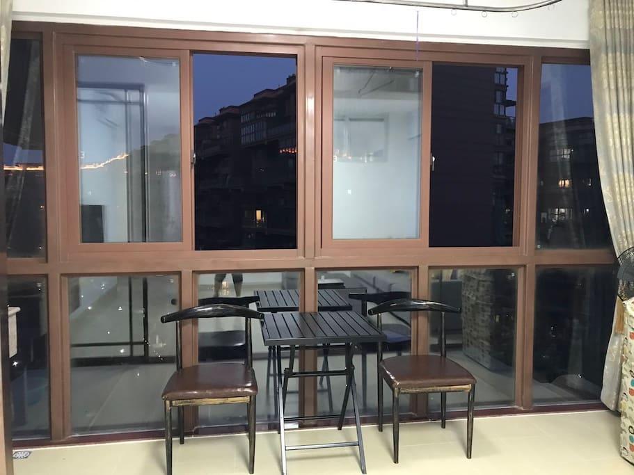 观海景阳台