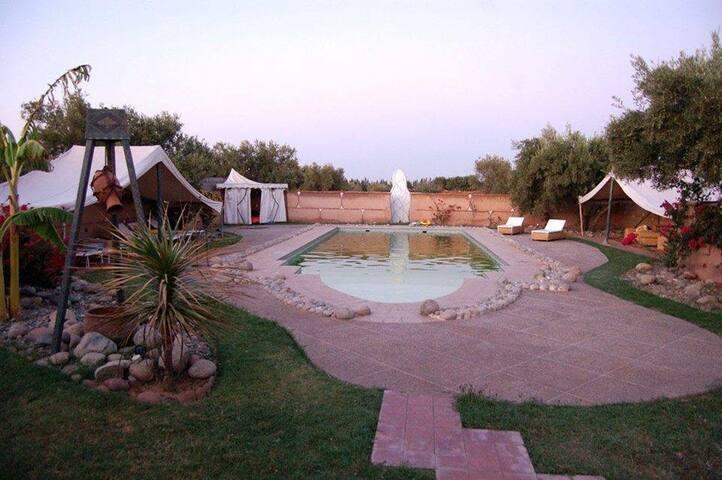 La villa Zarraba à Marrakech - Marrakesh - Huis