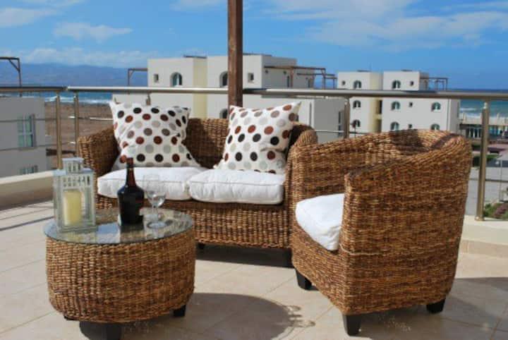 Aphrodite Beachfront Penthouse Apartment