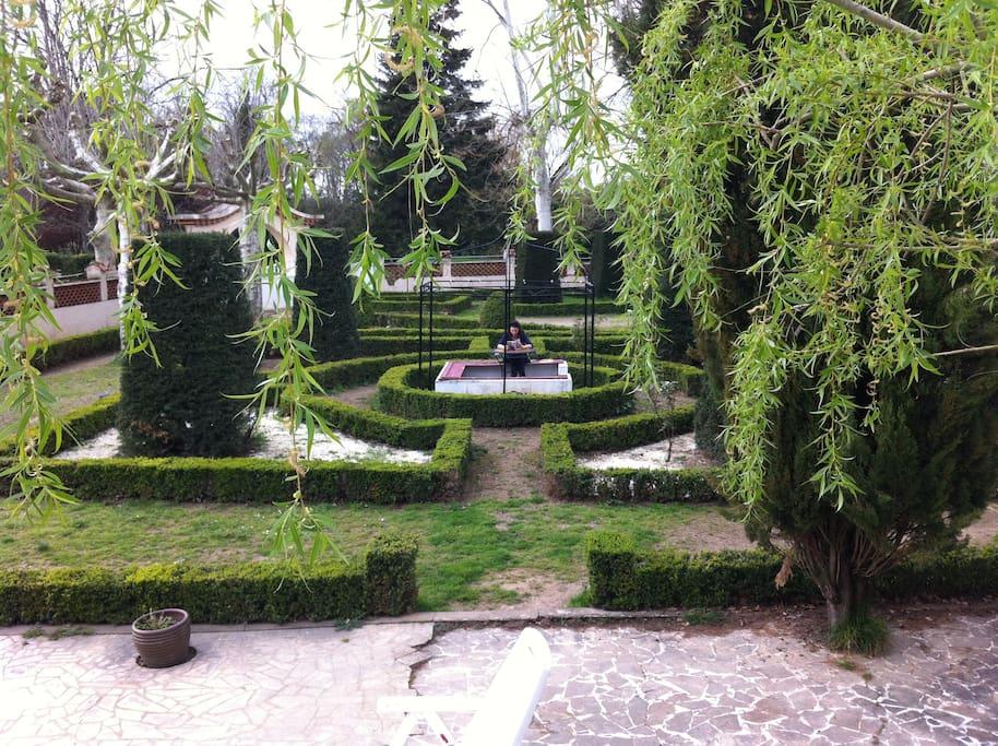 Jardin à la française.
