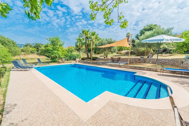 CAN FOGUE - Villa with private pool