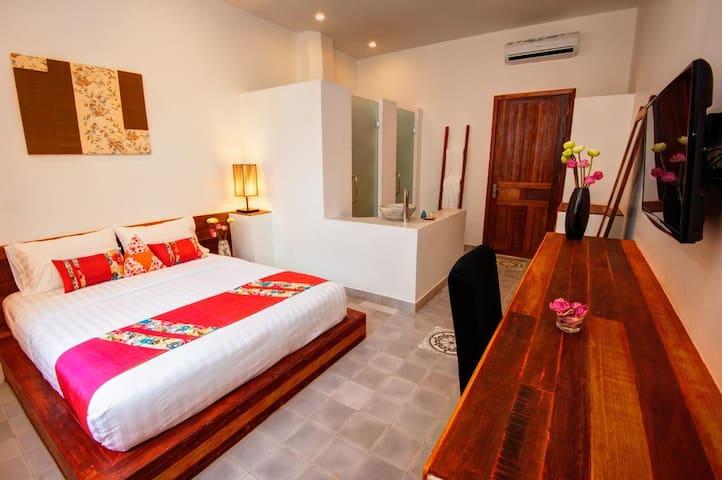 Standard room,House boutique Eco Hotel, Phnom Penh