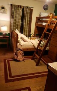 Farmhouse bunks - House