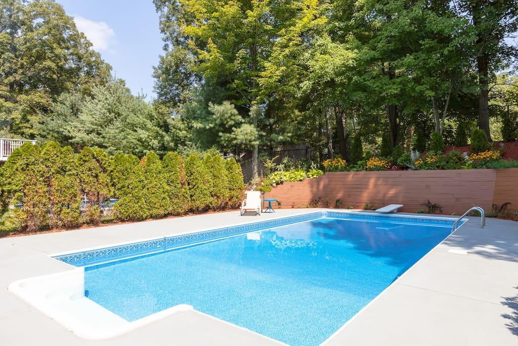 Pool (June through August)