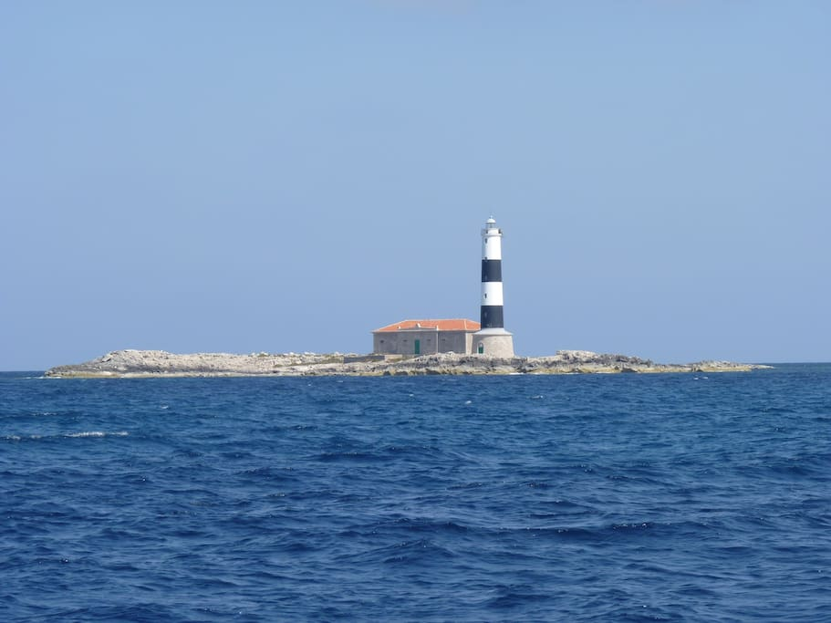 The Freus' lighthouse, North of Formentera