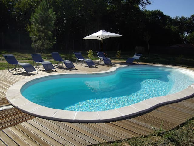 maison de campagne avec piscine - Sourzac - House
