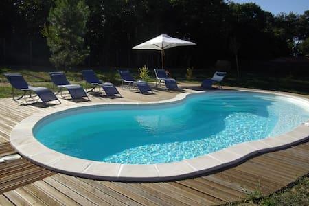 maison de campagne avec piscine - Sourzac