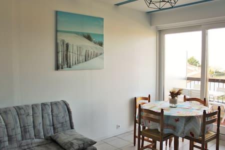 Appartement 4 pers vue mer 200 m de la plage