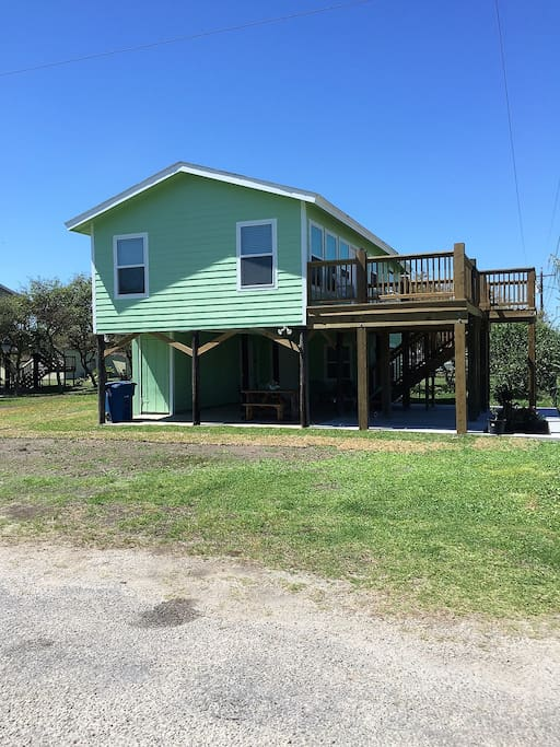 Two Blocks from Beach, Fishing Pier & Big Boggy