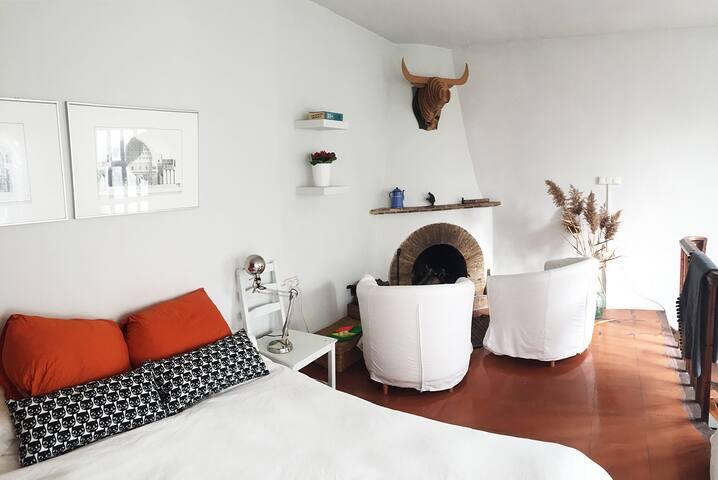 Sunny duplex nice shared garden - Barcelona - Dům