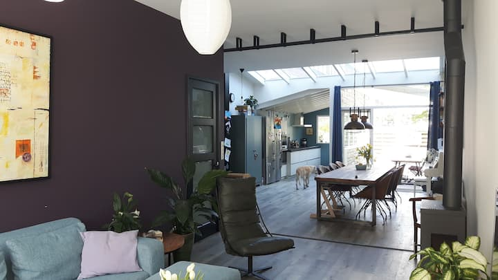 Large family home Haarlem near Amsterdam & beach