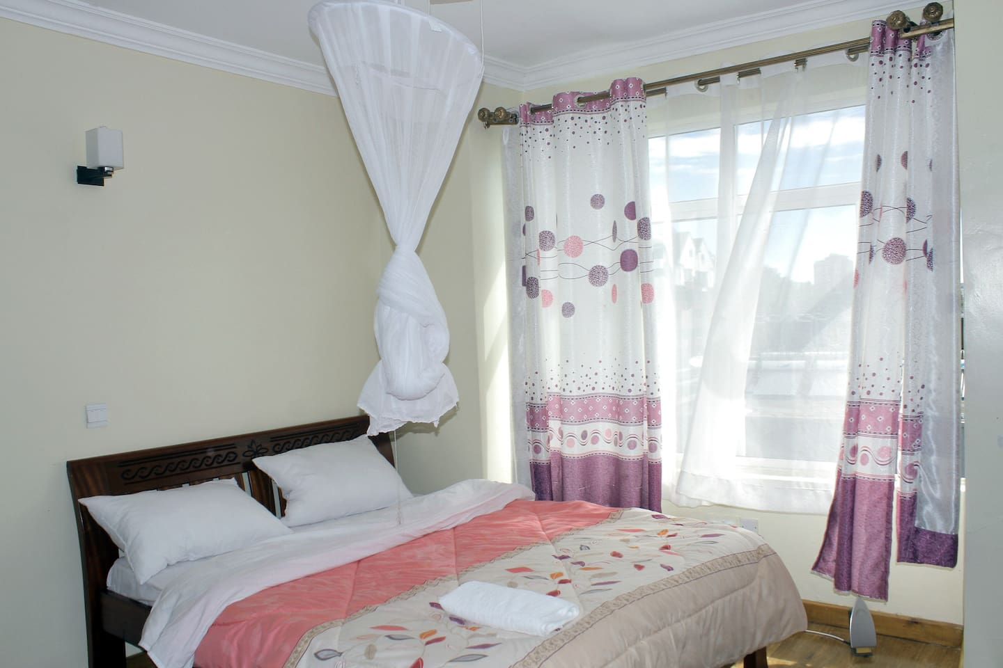 Bedroom with a private bathroom!