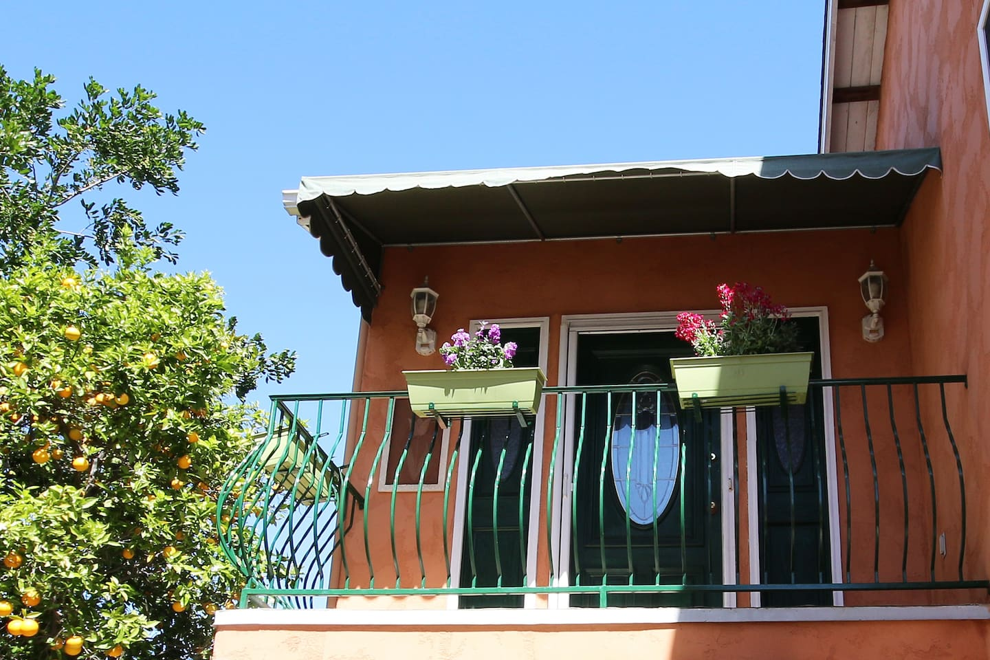 Picture yourself sitting in the sun on your lovely private balcony, sipping a cup of coffee...
