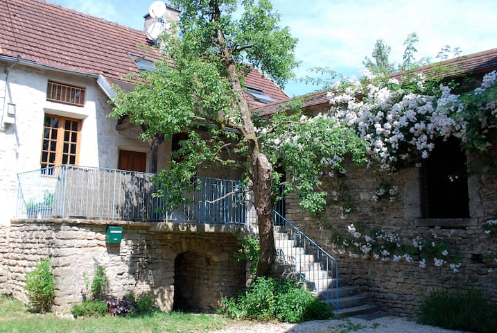 Beautifully restored cottage in Burgundy - Quincy-le-Vicomte - Huis