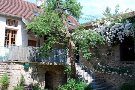 Beautifully restored cottage in Burgundy - Quincy-le-Vicomte - Ház