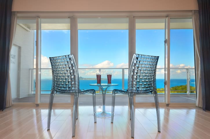 A luxury resort condo overlooking the ocean!